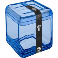 Porta Escova Cube Azul Coza