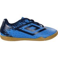 Chuteira Futsal Infantil Umbro Indoor Acid In Futebol Azul/Marinho - 34
