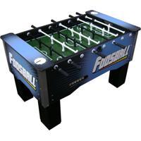 Mesa De Pebolim Impar Sports Foosball Com Boneco De Alumínio - Azul - Kanui