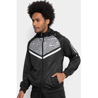 Jaqueta And1 Trilobal Capuz Born To Ball Masculina - Masculino-Preto