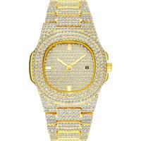 Relógio Ice Bling Full Diamond 300Klab - Dourado