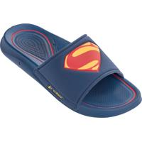 Chinelo Masculino Slide Super Homem Rider 11319