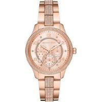 Relógio Michael Kors Runway Rosé Feminino - Feminino-Rose Gold