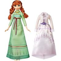 Boneca Frozen 2 Anna Trajes De Arendelle - Hasbro
