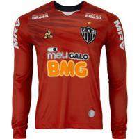 Camisa De Goleiro Do Atlético-Mg Ii 2019 Le Coq Sportif - Masculina - Vermelho