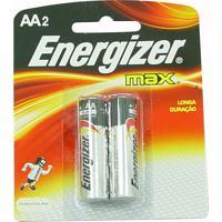 Pilhas Energizer Max Aa2 Alcalínas
