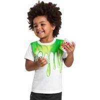 Camiseta Infantil Unissex Brandili Verde