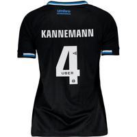 Camisa Umbro Grêmio Iii 2018 4 Kannemann Feminina
