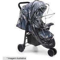 Capa De Chuva Universal Para Carrinho De Bebãª- Incolor &Multilaser