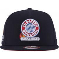 Boné Aba Reta New Era Bayern Munique - Snapback - Adulto - Azul Escuro 0c180094d13