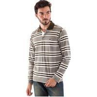 Camisa Konciny Polo Malha Confort Musgo