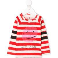 Noé & Zoë Camiseta Com Estampa Miss Cool - Vermelho
