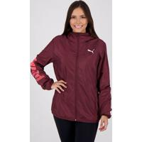 Jaqueta Puma Essentials Graphic Feminina Vinho