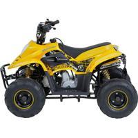 Mini Quadriciclo Bk-Atv504 50Cc Amarelo Bull Motors