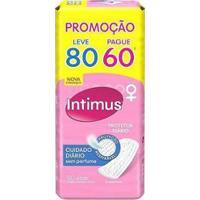Absorvente Intimus Days Protetor Diário Sem Abas - 80 Unidades - Feminino-Incolor