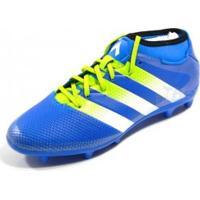 Chuteira Adidas Ace 16.3 Primemesh Campo Azl/Bco/Lim - Adidas