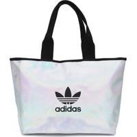 Bolsa Adidas Originals Shopper Holográfica Prata
