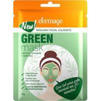 Máscara Facial Dermage Green 10G