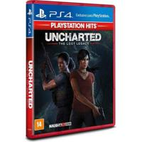 Jogo Uncharted The Lost Legacy Ps4 Playstation Hits Sony - Unissex