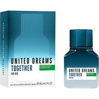 Perfume Benetton United Dreams Together For Him Masculino Edt 60Ml - Masculino-Incolor