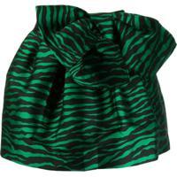 P.A.R.O.S.H. Saia Animal Print - Verde