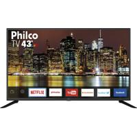 "Smart Tv Led 43"" Philco Bivolt Ptv43G50Sn"