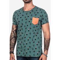 Camiseta Cactus Verde 101002