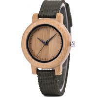 Relógio Madeira Dododeer-B05 Marrom - Feminino