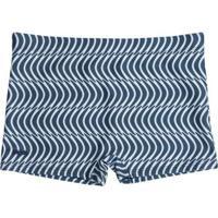 Sunga Mash Boxer Estampada Waves - Masculino-Azul+Marinho