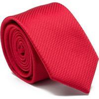 Gravata Square - Red Key Design Masculina - Masculino-Vermelho