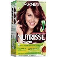 Coloração Nutrisse Garnier 46 Borgonha Vermelho - Unissex-Incolor