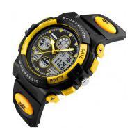 Relógio Skmei Infantil -1163- Preto E Amarelo