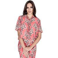 Camisa Floral Colcci