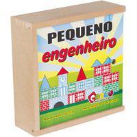 Jogo Educativo De Montar Carlu Pequeno Engenheiro 50 Peças Colorido