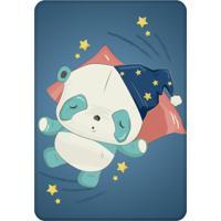 Tapete Love Decor De Atividades Infantil Panda Dormindo Único