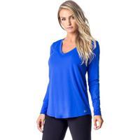 Blusa Lisa Alongada- Azul- Vestemvestem