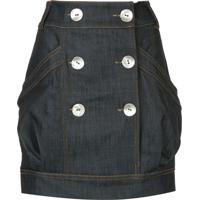 Manning Cartell Saia Jeans - Azul