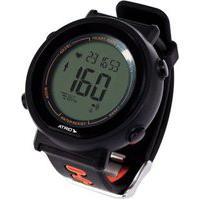 Monitor Cardíaco + Cinta Fortius Com Contador De Calorias Cronômetro Alarme Preto Atrio - Es049 Es049