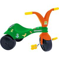 Triciclo Fofossauros Verde/ Laranja Xalingo