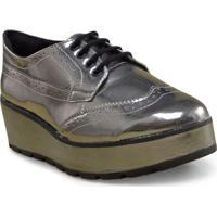 Sapato Fem Ramarim 17-89101 Prata Velha