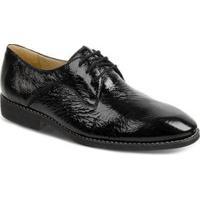 Sapato Social Sandro & Co Verniz Masculino - Masculino-Preto