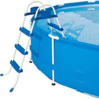 Escada Para Piscina 3 Degraus Premium Bel Lazer - Unissex