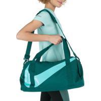 Mala Nike Gym Club - 25 Litros - Azul Esc/Verde Cla