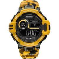 Relógio Digital Mormaii Action Mo1134/8L - Masculino-Amarelo