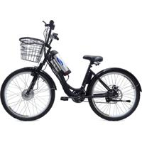 Bicicleta Elétrica Machine Motors Deluxe 350W 36V Preto/Preto