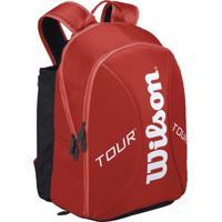 Mochila Wilson Esportiva Tour Backpack Vermelha