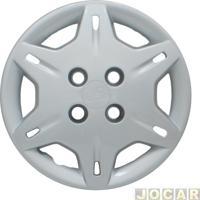 Calota Aro 13 Chevrolet - Grid - Corsa - 2000 - 6 Pontas - Fixada Com Parafuso - Leia A Descrição Detalhada - Prata - Cada (Unidade) - 004