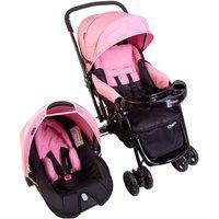 Carrinho Com Bebê Conforto Cosco Travel System Reverse