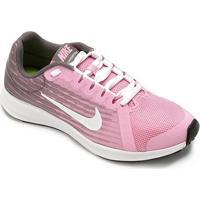 Tênis Infantil Nike Downshifter 8 - Feminino-Rosa+Branco