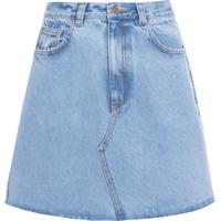 Saia Mini Jeans - Azul